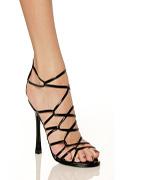 Slendor Sexy High Heel Shoes in Black